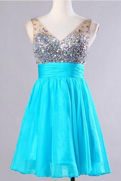 A-Line Short Prom Dresses,Charming Homecoming Dresses,Homecoming Dresses,HC19