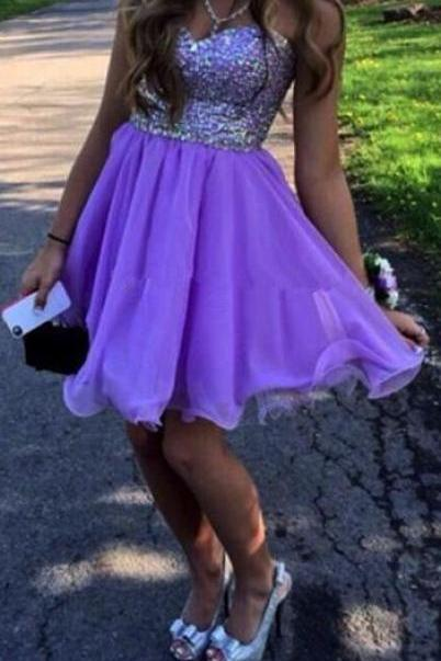 Sweetheart Simple Short Prom Dresses,Cocktail Dress,Graduation Dresses,Homecoming Dresses,XT283