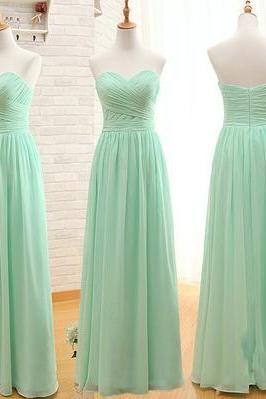 long bridesmaid dress, Chiffon bridesmaid dress, cheap bridesmaid dress,bridesmaid dresses,BS01