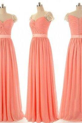 Charming bridesmaid dress, Chiffon bridesmaid dress, cheap bridesmaid dress,bridesmaid dresses,BS02