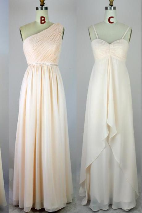 Simple bridesmaid dress, Chiffon bridesmaid dress, cheap bridesmaid dress,bridesmaid dresses,BS03